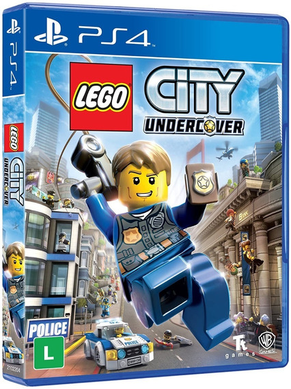Lego City Undercover Ps4 Jogo Mídia Física Português Lacrado