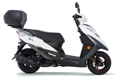 Suzuki Lindy 125 - Honda Elite 125 - ( F )