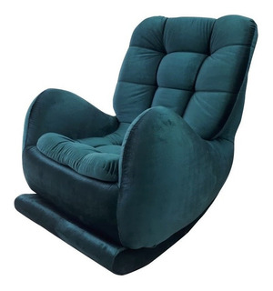 Silla Sofa Mecedora O Reclinable Elegante Un Solo Puesto