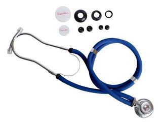Estetoscopio Azul Para Enfermagem Premium Rappaport