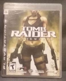 Tomb Raider Underworld Ps3 Usado