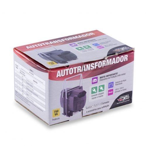 Autotransformador 750va - E/s:bivolt ( 750va=375w )