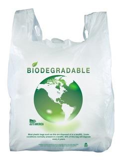 Bolsa Biodegradable Camiseta Grande Con Envio Gratis 1 Kg