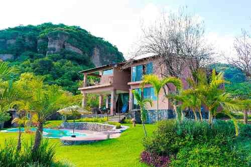 Bonita Casa En Valle De Atongo Tepoztlan Morelos