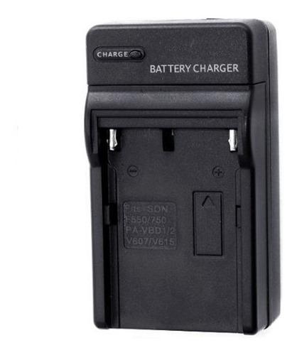 Cargador Para Baterias Np-f550 Np-f750 Np-f960 Sony Luz Led