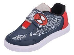Tênis Infantil Masculino Menino Homem Aranha Spider Barato