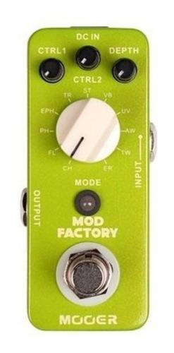 Pedal De Efecto Micro Series Mooer Mod Factory 11 Efectos