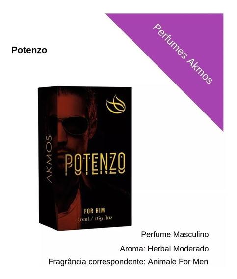 Potenzo - Perfumes Akmos (fragrância Espir Animale For Men)