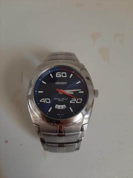 Relógio De Pulso Orient Azul Original