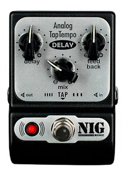 Pedal Nig Padt Pocket Analog Delay Taptempo