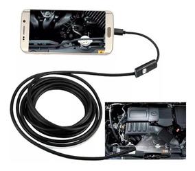 Camera Sonda Endoscópica Android Inspeção Veicular Mecanica