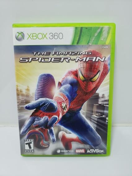 Jogo Xbox 360 The Amazing Spider Man - Usado Original