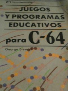 Libro Commodore 64 Juegos Y Programas