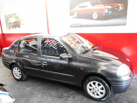 Clio Sedan Rn 1.0 03 Completo Troco Favorita Multimarcas