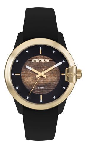 Relógio Mormaii Feminino Wood Mo2035jl/8m C/nf