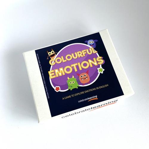 Juego De Mesa Educativo En Inglés Colourful Emotions