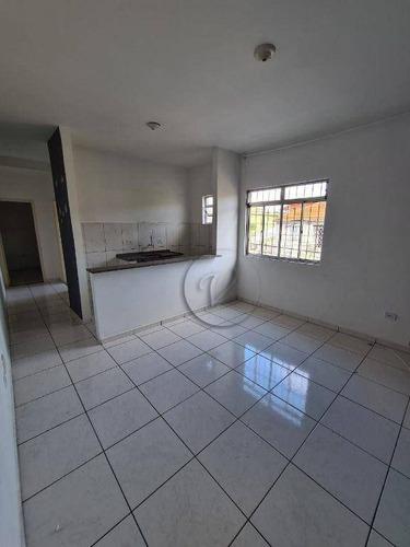 Imagem 1 de 6 de Apartamento Com 1 Dormitório Para Alugar, 30 M² Por R$ 1.000,00/mês - Parque Das Nações - Santo André/sp - Ap10448