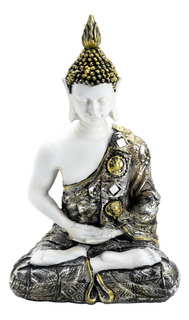 Adorno Buda Dhyana Poliresina 32cm