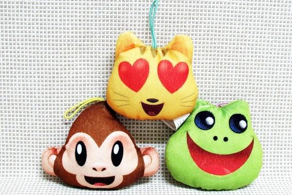 Pelucia Emoji Lote Mc Donalds Bau2 (os Tres)