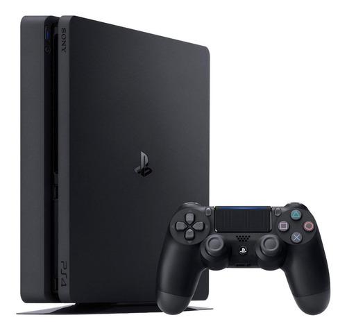 Imagen 1 de 4 de Sony PlayStation 4 Slim 1TB FIFA 20/Extra DualShock 4 Controller color  negro azabache