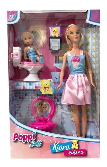 Poppi Doll Muñeca 30 Cm Kiara Niñera Original B194