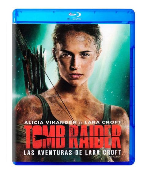 Tomb Raider Aventuras De Lara Croft 2018 Pelicula Blu-ray