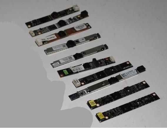 Lote Contendo 10 Webcams Para Notebooks