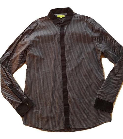 Camisa Furor Elements Gris Oscuro Hombre Talla L Lineas