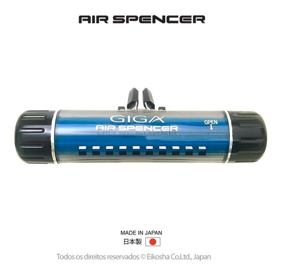 Air Spencer Giga Clip Squash -odorizante - Made In Japan