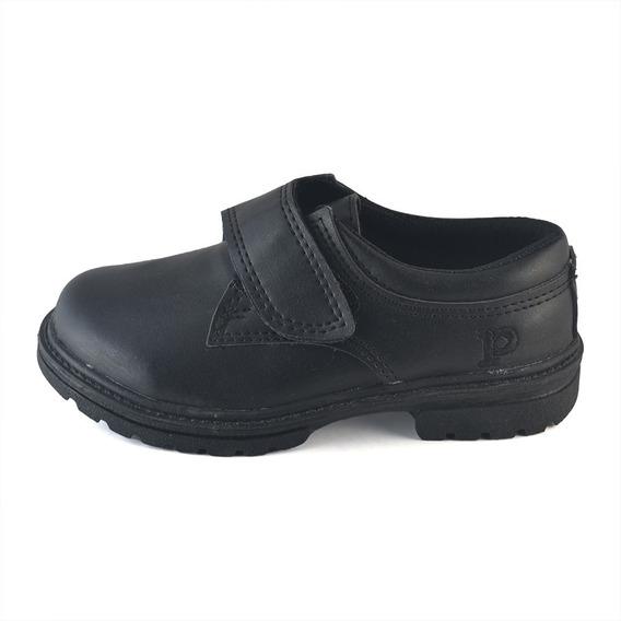 Zapato Colegial Abrojo Ecocuero Pampero Envío Gratis