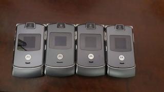 Motorola V3 - Lote Com 4 Unidades
