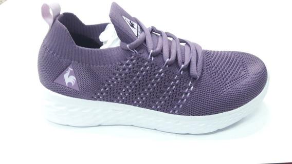 Zapatillas Le Coq Sportif Runaid Purple Envío A Todo El País