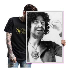 Poster Raul Seixas Bandas Rock Nacional T. A2 60x42cm 15