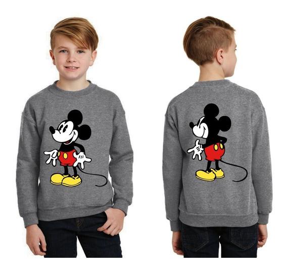 Buso Basico Algodon Estampado Personalizado Mickey Mouse