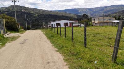 Venta De Lote Grande Plano En Ramirqui Boyaca Colombia