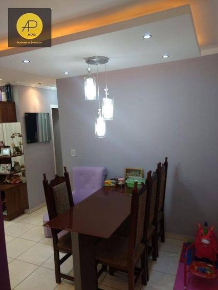 Apartamento À Venda, Vila Bela Flor, Mogi Das Cruzes. - Ap0090