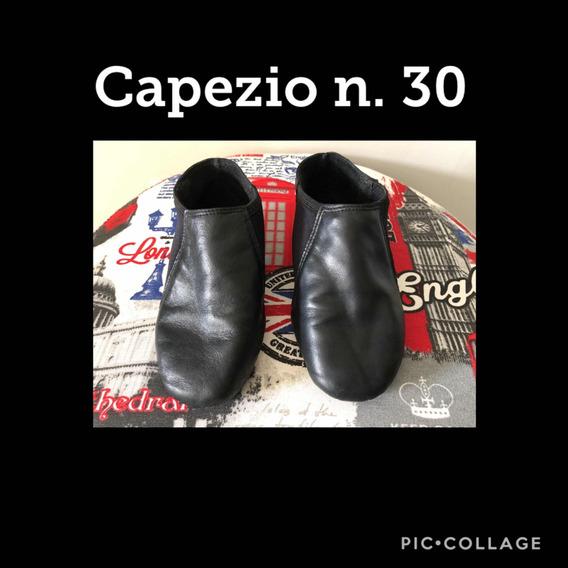 Sapatilha/botinha Para Jazz Marca Capezio Cor Preta N. 30
