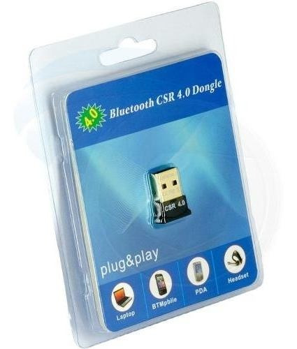 Bluetooth Adaptador Usb Csr 4.0 Windows 7 8 10 Dongle Pa Y@