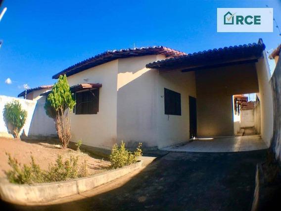 Casa Com 3 Dormitórios À Venda Por R$ 129.900,00 - Nova Esperança - Parnamirim/rn - Ca0150