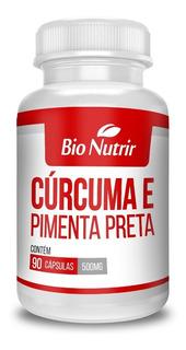 Cúrcuma + Pimenta Preta - Kit Com 3 - Anti-inflamatório