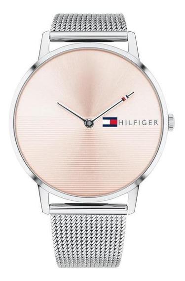Reloj Tommy Hilfiger Dama Color Plateado 1781970 - S007