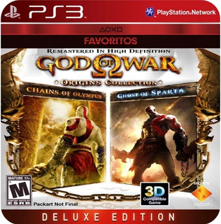 God Of War Origins Collection Ps3 (20gb)