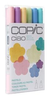 Copic Ciao Markers Set 6 Pastel - Cromarti