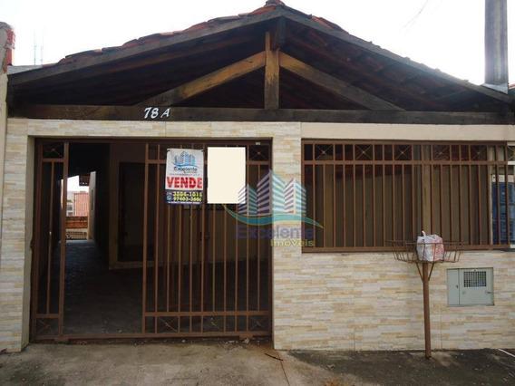 Casa Com 2 Dormitórios, 78 M² À Venda Por R$ 230.000 E Locação R$1.000 - Jardim Terras De Santo Antônio - Hortolândia/sp - Ca0429