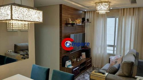 Apartamento Com 2 Dormitórios À Venda, 46 M² Por R$ 235.000,00 - Jardim Dos Pimentas - Guarulhos/sp - Ap9100