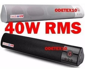 Caixa De Som Bluetooth 40w Subwoofer Fm Usb Sd Sound Bar P2