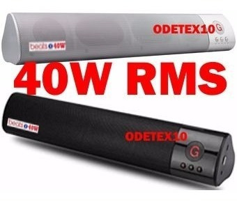 Caixa De Som Bluetooth 40w Subwoofer Fm Usb Sd Sound Bar P2