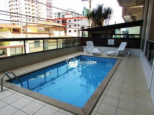 Apartamento À Venda, 45 M² Por R$ 190.000,00 - Vila Guilhermina - Praia Grande/sp - Ap8929