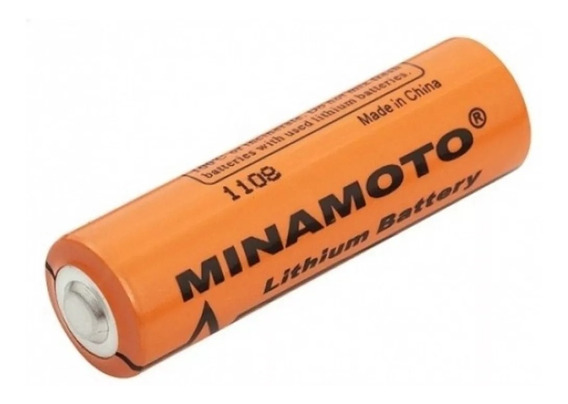Pilha Aa 3,6v 2400mah Lithium Er14505 - Minamoto Acumulador