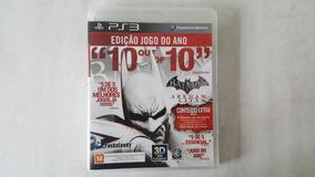 Batman Arkham City - Edição Jogo Do Ano - Original - Ps3